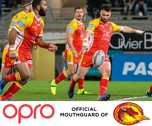 OPRO announce partnership with Catalans Dragons