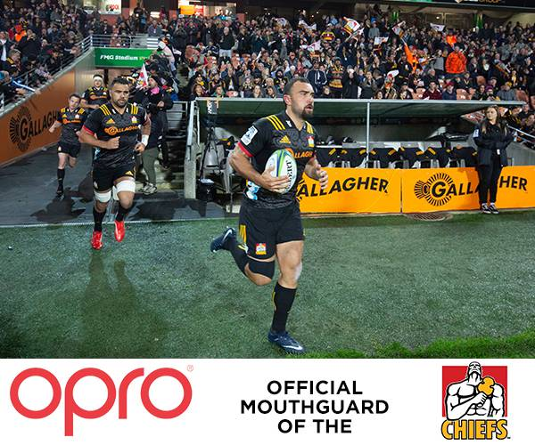 OPRO renews partnership with Super Rugby's Gallagher Chiefs