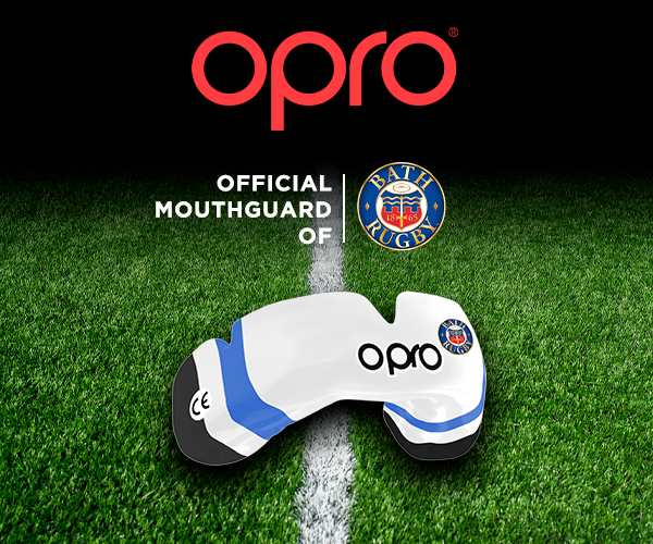 OPRO Renews as Official Mouthguard of Bath Rugby