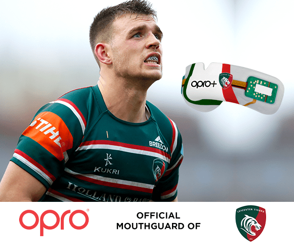OPRO renews as Official Mouthguard of Leicester Tigers