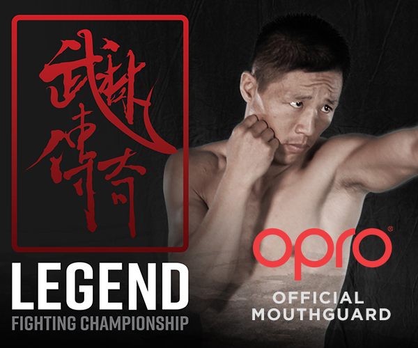 OPRO and MMA OrganizationLegends FC Team Up Ahead of LFC13
