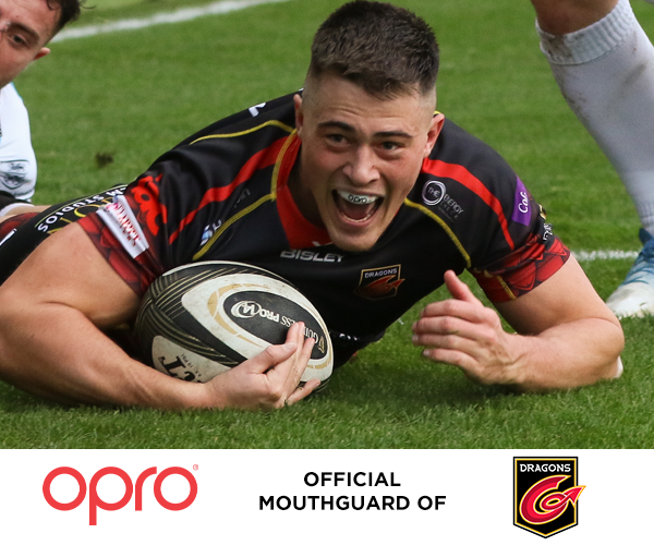 OPRO RENEWS AS OFFICIAL MOUTHGUARD OF DRAGONS