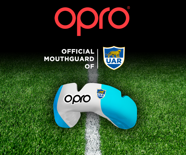 OPRO announce partnership with Argentine Rugby Union
