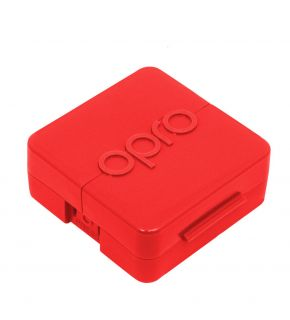Antimicrobial Mouthguard Case-Red