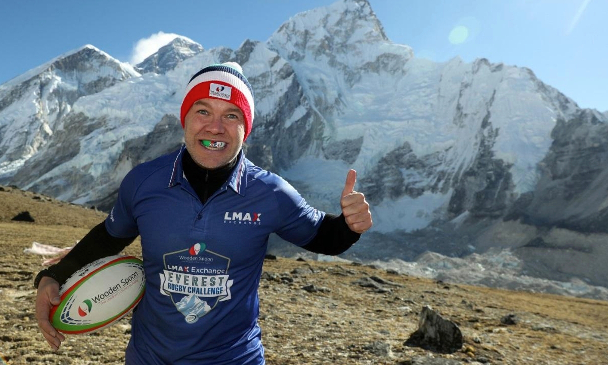 The LMAX Exchange Everest Rugby Challenge: Breaking rugby records on Everest for charity
