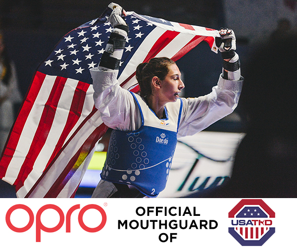 OPRO announce partnership with USA Taekwondo