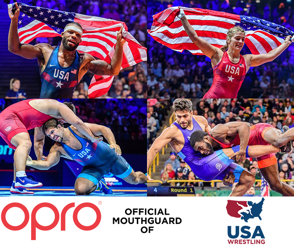 USA Wrestling announces partnership with OPRO
