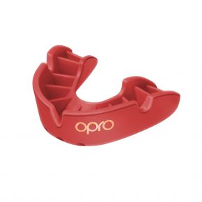 OPRO Bronze Youth Mouth Guard Gum Shield Mouthguard up to age 10 Black