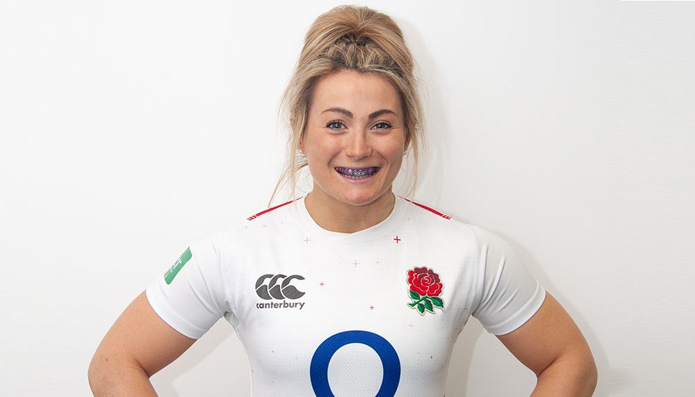 Vicky Fleetwood England Rugby