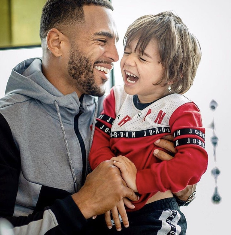 Danny Roberts and son