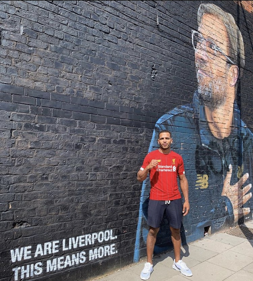 Danny Roberts Liverpool supporter