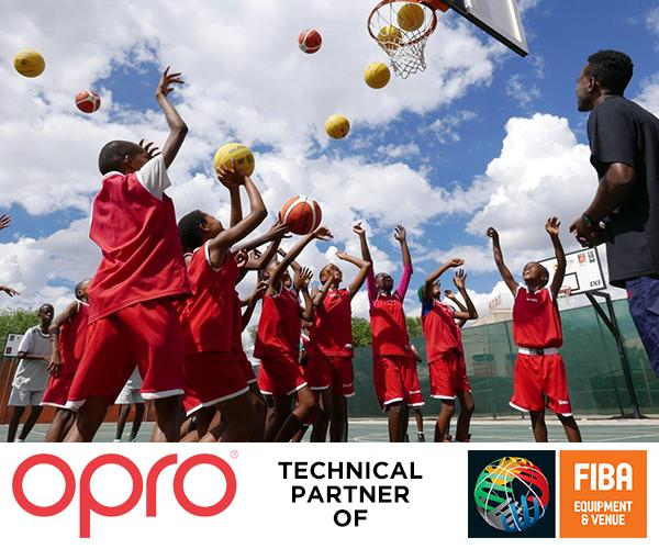 OPRO announce partnership with the International Basketball Foundation
