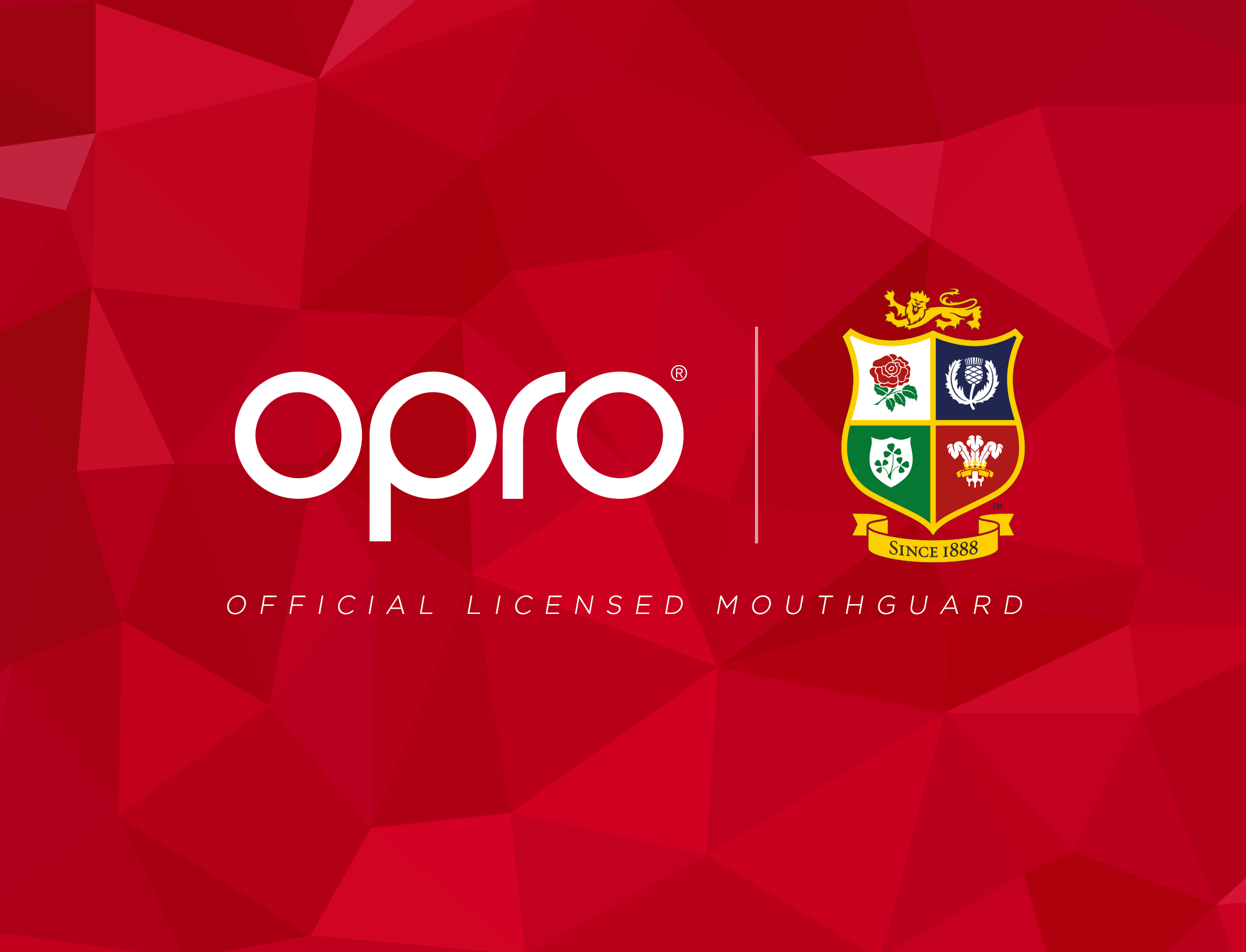 BRITISH & IRISH LIONS PARTNER WITH OPRO MOUTHGUARDS