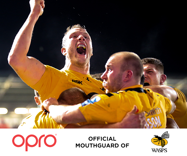 OPRO Renews as Official Mouthguard of Wasps